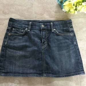 Citizens of Humanity Denim Jean Skirt Size 26